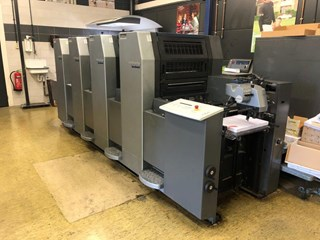 Heidelberg SM 52-4P+ Sheet Fed