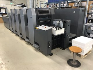 Heidelberg SM 52-4LX Sheet Fed
