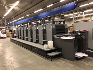 Heidelberg Speedmaster SM 74-8P Sheet Fed