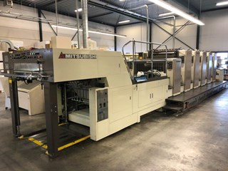 Mitsubishi D.3000-S5+TC+ED SPC (5/0+L+extended delivery)  Gebrauchte Bogenoffsetmaschinen