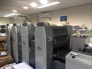 Ryobi GX 单张纸胶印机
