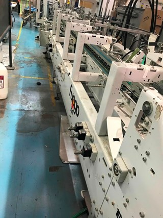 Bobst Fuego 110 PLIEUSES-COLLEUSES/FABRICATIONS DES BOITES
