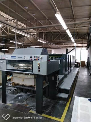 Heidelberg Speedmaster 102-6PPL Sheet Fed