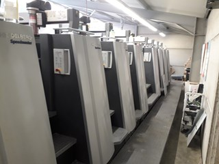 Heidelberg XL 75-8P Sheet Fed