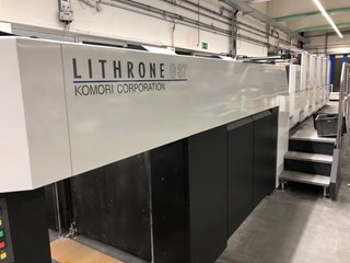 Komori Lithrone GL 537 HC Offset de pliegos