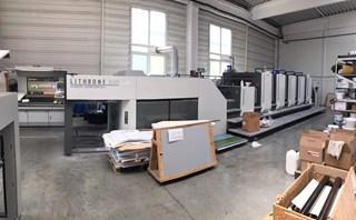 Komori LITHRONE GL 540 CX Sheet Fed