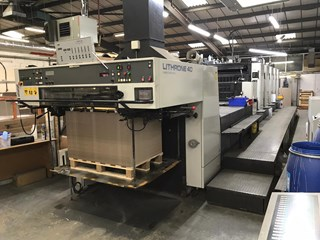 Komori Lithrone L540EMC Machines offset à feuilles