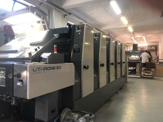 Komori Lithrone L520 B Sheet Fed
