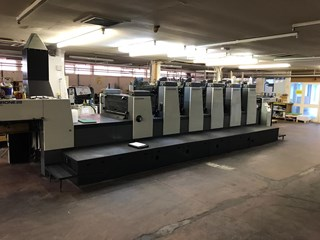 Komori Lithrone L 528+C EM Sheet Fed