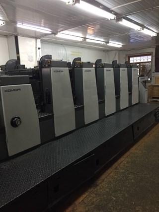 Komori Lithrone L528EMC Machines offset à feuilles