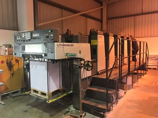 Komori Lithrone L528 EH Sheet Fed