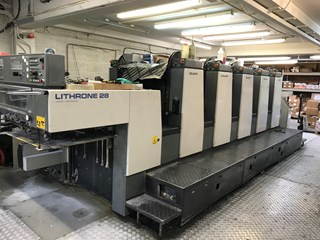 Komori Lithrone L 528 (EM) Offset de pliegos