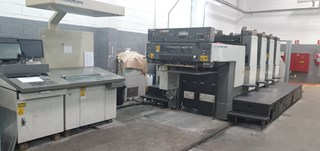 Komori Lithrone L428P EH Sheet Fed