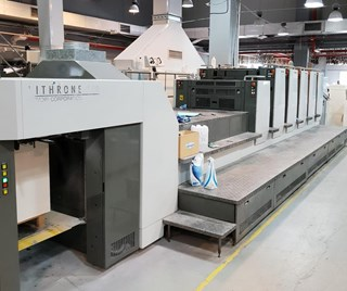 Komori Lithrone LS 529 C (H) Sheet Fed