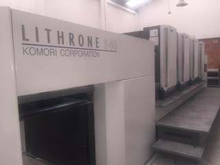 Komori Lithrone LS 440 Sheet Fed