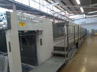 Komori Lithrone LS840PC (H) Sheet Fed