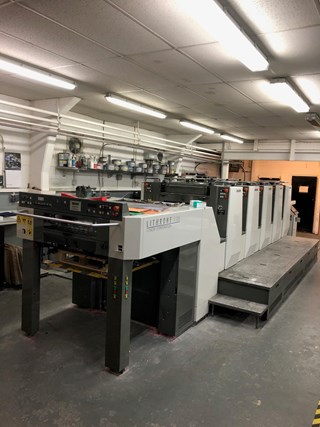 Komori Lithrone LS 526 (M) Sheet Fed