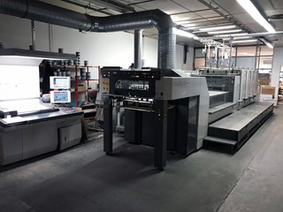KOMORI LITHRONE LS 429+C (H) Offset de pliegos