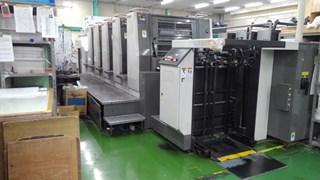 Komori LS 526 Gebrauchte Bogenoffsetmaschinen