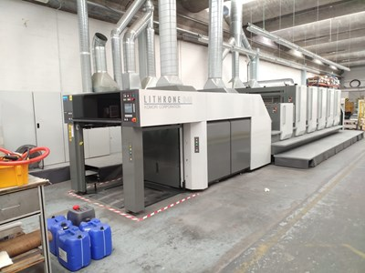 Komori LITHRONE GL 540+CX