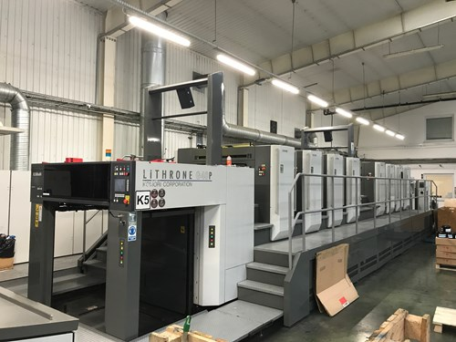 Komori Komori Lithrone GL 840P HUV