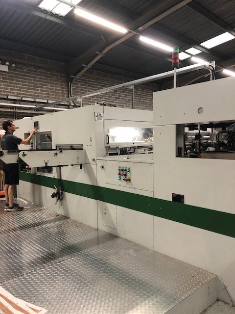 Show details for Bobst SP104-E
