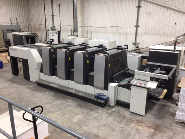Show details for Komori GL 429 H-UV