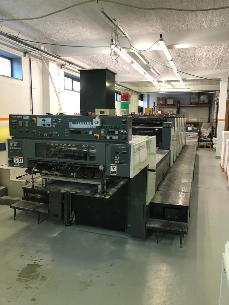Show details for KOMORI LITHRONE L 628+C (EH)