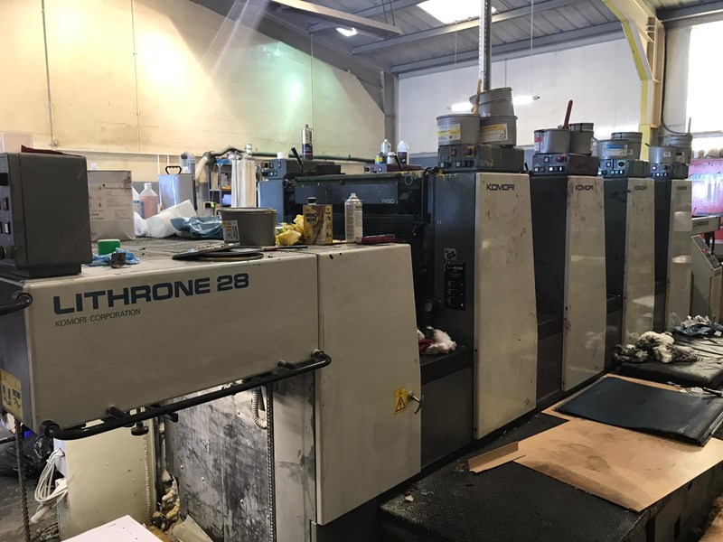 Komori Lithrone L 428 (ES)