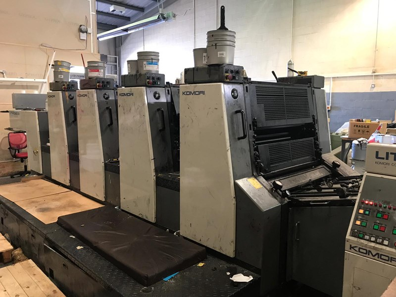 Show details for Komori Lithrone L 428 (ES)