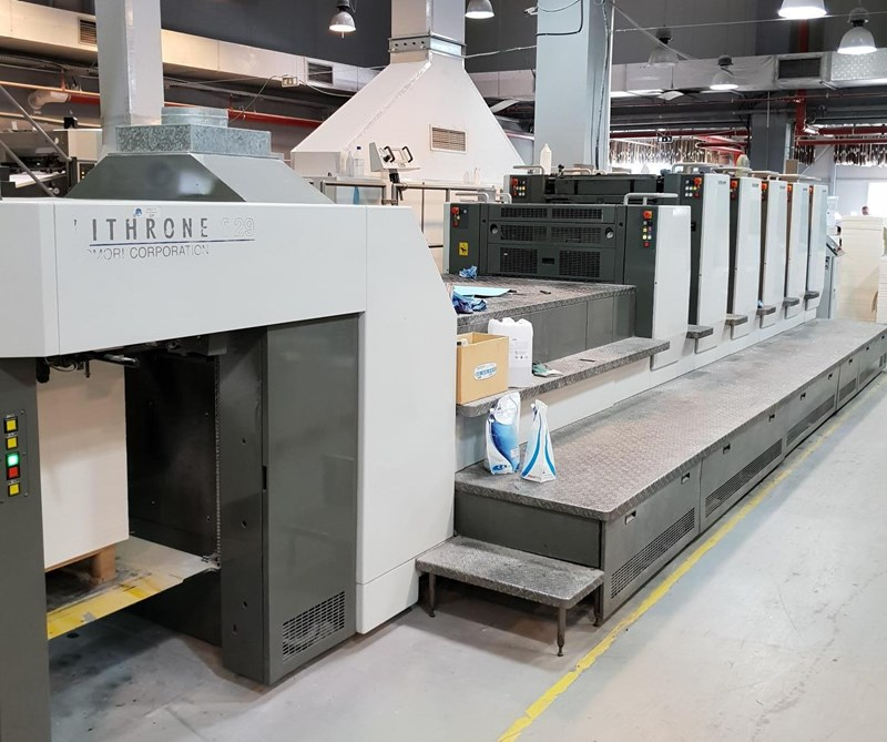Show details for Komori Lithrone LS 529 C (H)
