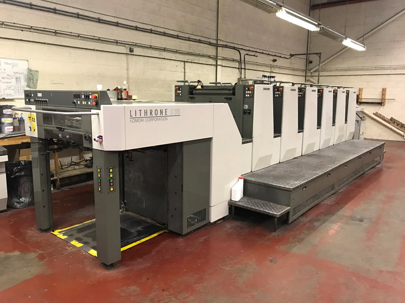 Show details for Komori Lithrone LS 626 M