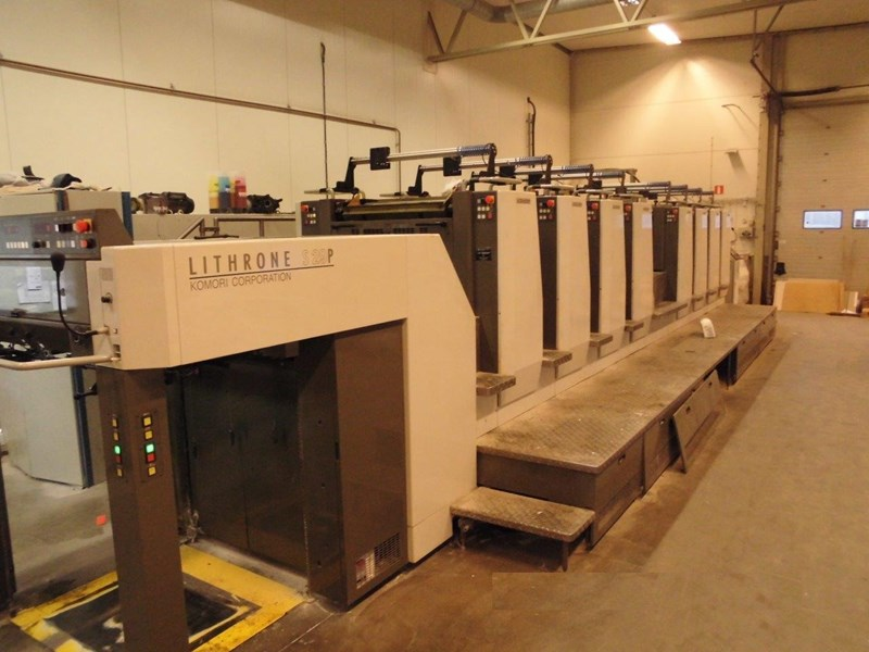 Show details for KOMORI LITHRONE LS 829P (H)