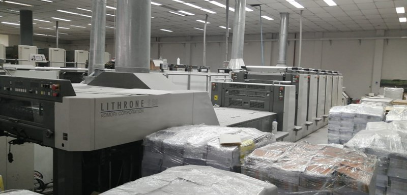 Komori Lithrone LS629+CX H