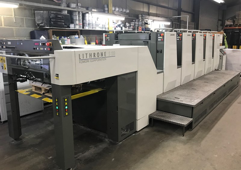 Show details for KOMORI LITHRONE LS 529 (M)
