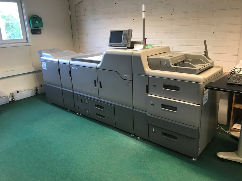 RICOH PRO C751 DIGITAL PRINTING MACHINE
