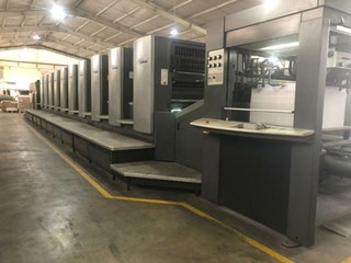 Heidelberg SM102 10P6 Sheet Fed