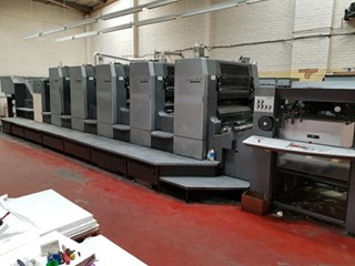 HEIDELBERG CD102-5+L Sheet Fed