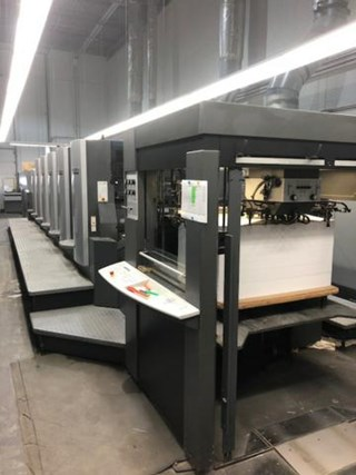 HEIDELBERG CD102-5+LX Machines offset à feuilles