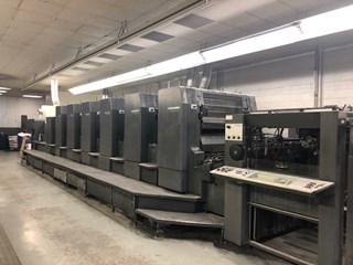 HEIDELBERG CD102-6+L Sheet Fed