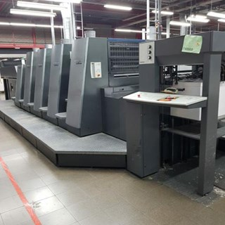 Heidelberg CD74 4LX C Sheet Fed