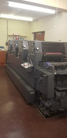 HEIDELBERG GTOVP 52 Sheet Fed