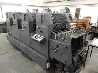 Heidelberg GTOVP 52 Gebrauchte Bogenoffsetmaschinen