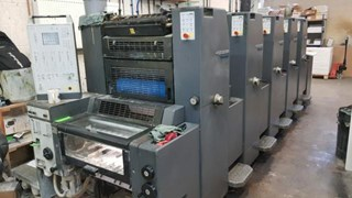 HEIDELBERG PM52-5P Gebrauchte Bogenoffsetmaschinen