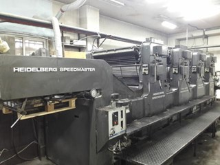 Heidelberg SM102VP Sheet Fed