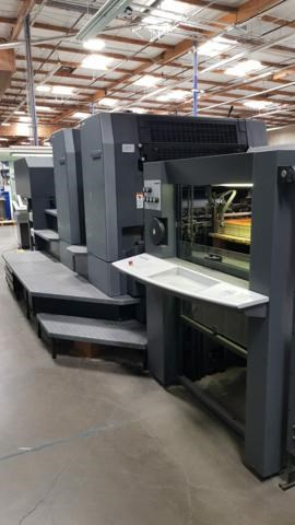 HEIDELBERG SM102-2P Sheet Fed