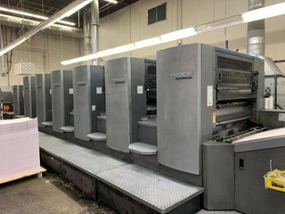 HEIDELBERG SM102-6P3+L Sheet Fed
