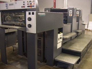 HEIDELBERG SM74-2H Sheet Fed