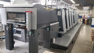 Heidelberg XL75-8P-C Sheet Fed