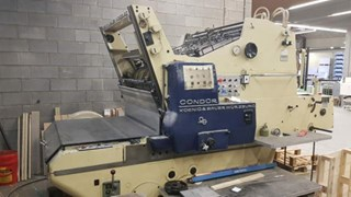 KBA Condor Cylinder Die Cutters - Automatic and Handfed